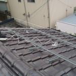屋根架台取り付け